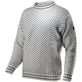 Devold Nordsjø Crew Neck Sweater Unisex Offwhite/Anthracite